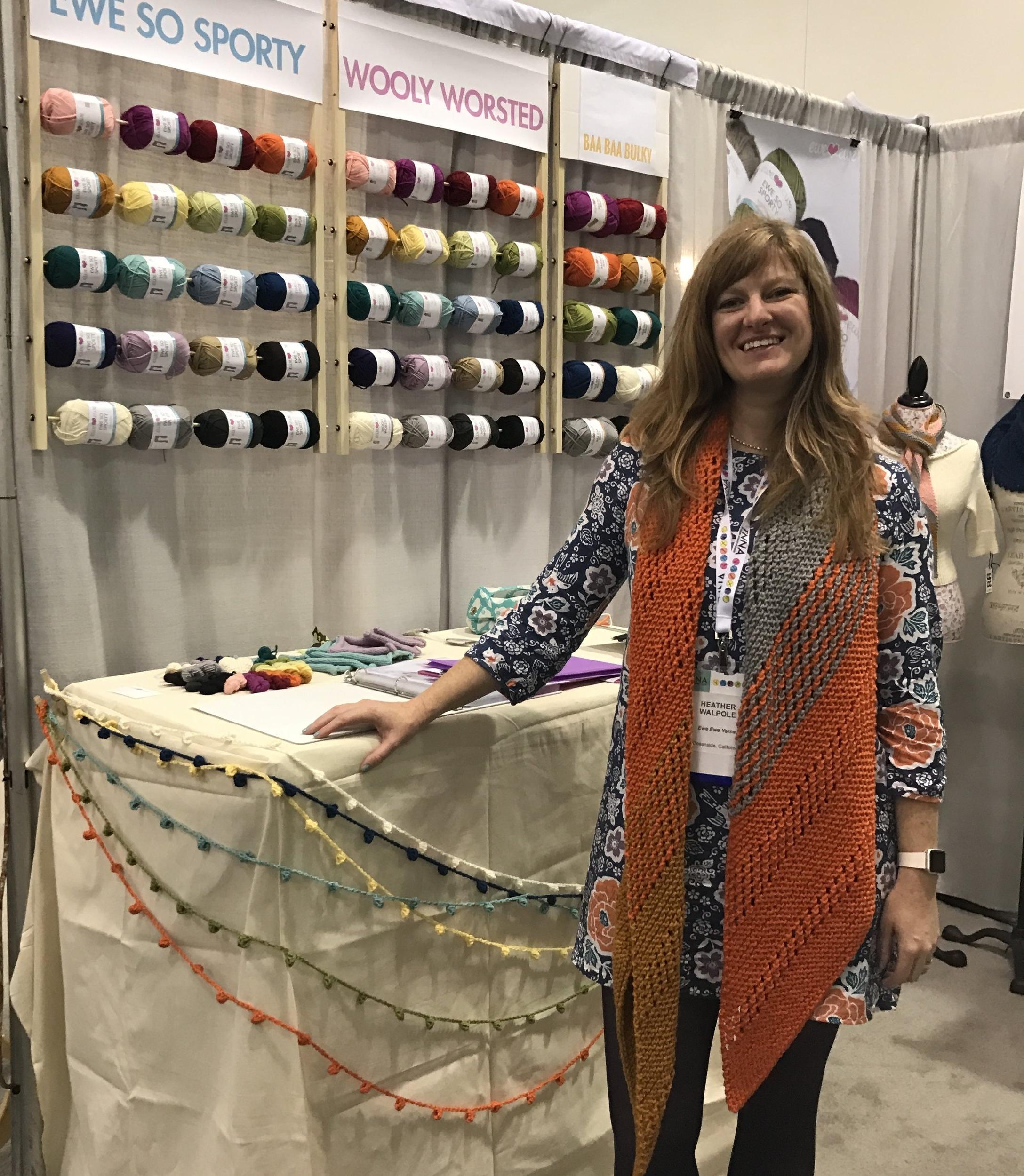 Heather Walpole of Ewe Ewe Yarns