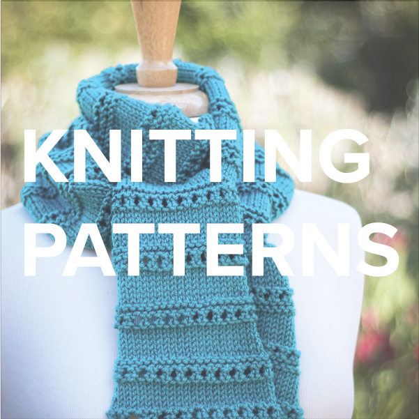 knitting + crochet patterns