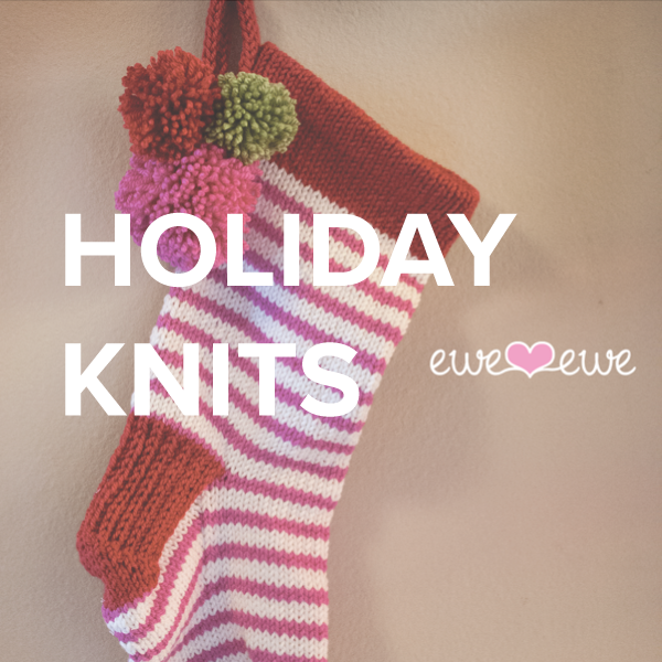 halloween, thanksgiving, and christmas holiday knitting patterns