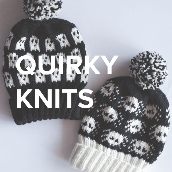Quirky knittign pattern to make you smile