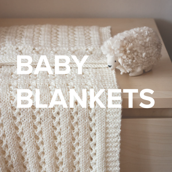 Baby blanket knitting and crochet patterns