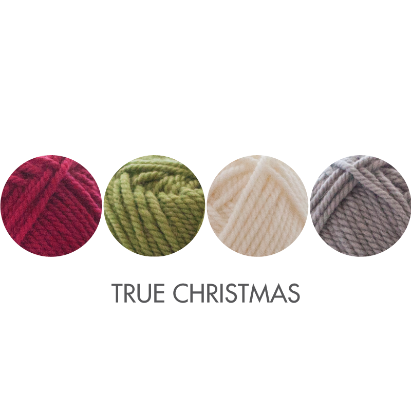 Stocking kit color option:  True Christmas