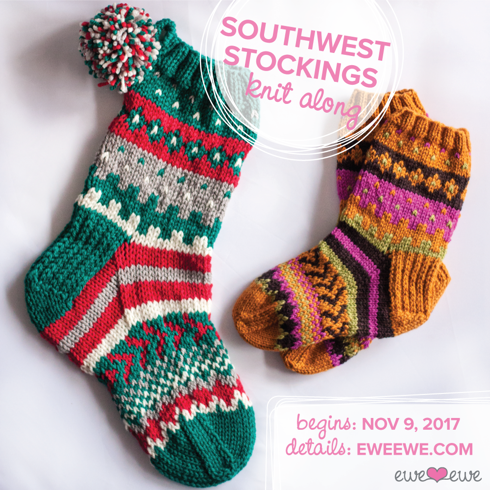 Southwest Stockings Knit Along