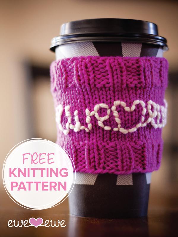 Cozy Coffee FREE Knitting pattern