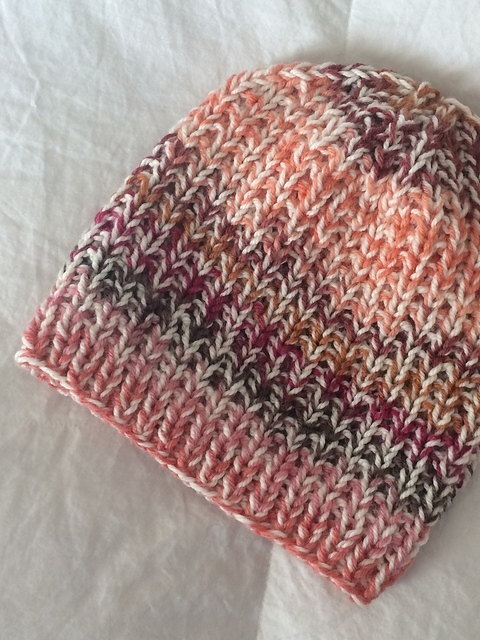 Marled Textures Hat free knitting pattern by Kaity Fraker  using Ewe Ewe  Wooly Worsted  and Classic Elite Liberty Wool
