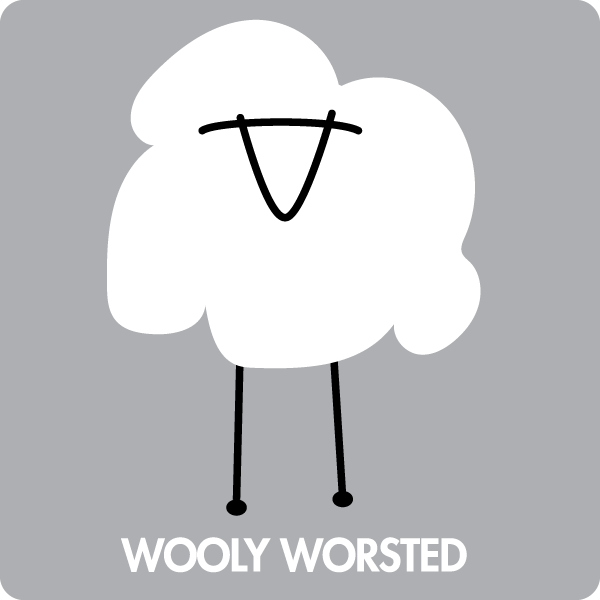 Wooly Worsted merino yarn