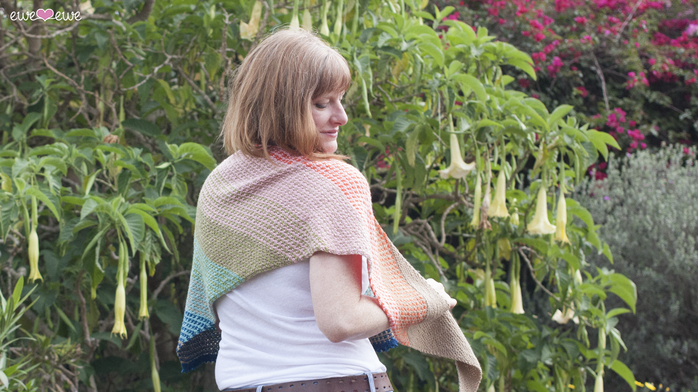 Ewe So Summer  shawl knitting pattern