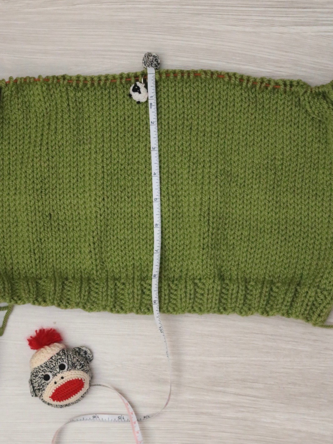 Adding a few inches to the Carbeth Cardigan