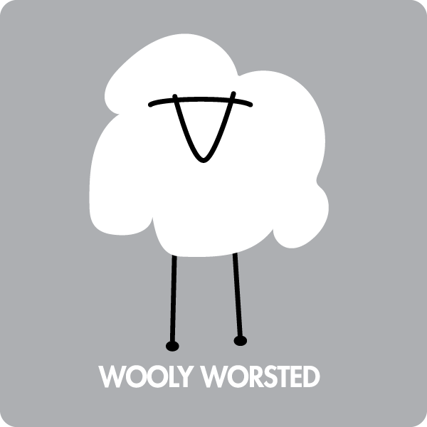 Wooly Worsted merino Wool Yarn
