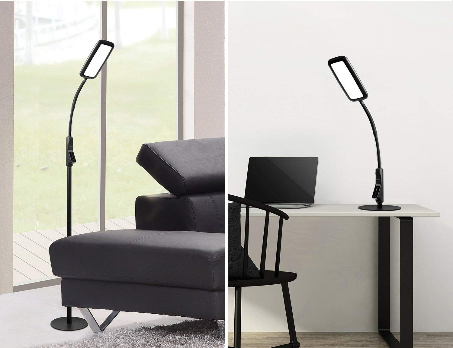 Tenergy LED 2-in-1 Floor Lamp/Desk Lamp