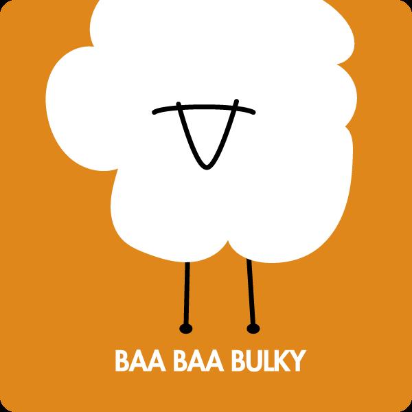 Baa Baa Bulky merino yarn
