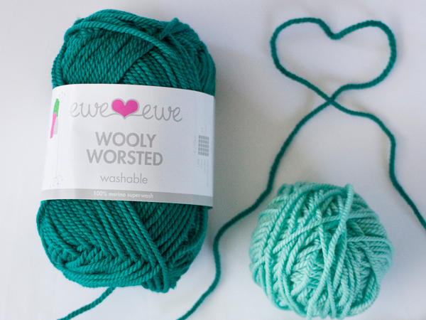 Wooly Worsted  merino yarn by Ewe Ewe