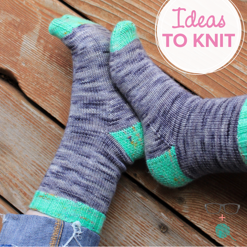 Extranilla Socks  knitting pattern by Meaghan Schmaltz
