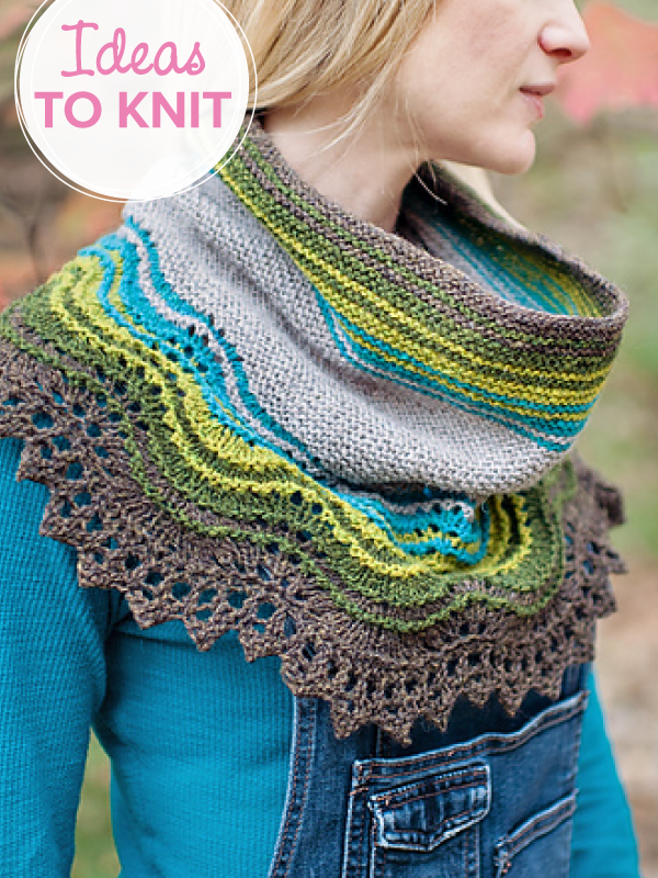 Weston Loop  cowl designed by Carina Spencer