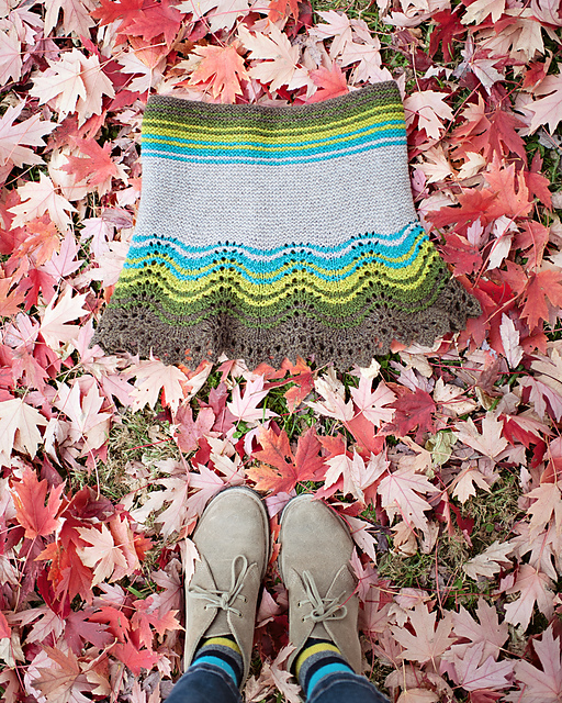 Weston Loop  knitting pattern designed by Carina Spencer
