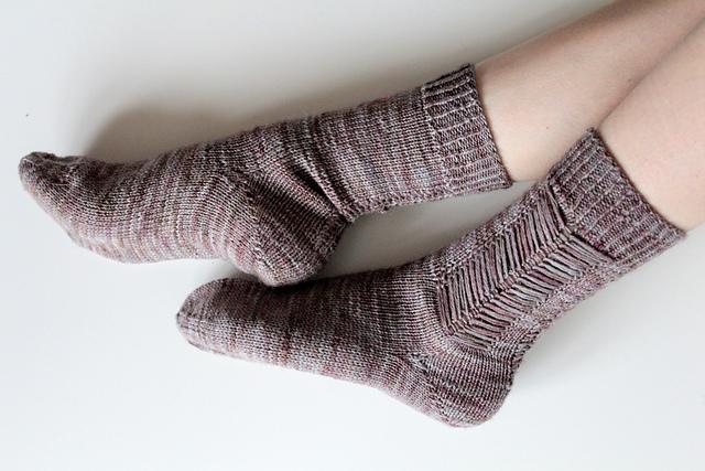 Calluna Socks  knitting pattern on Ravelry