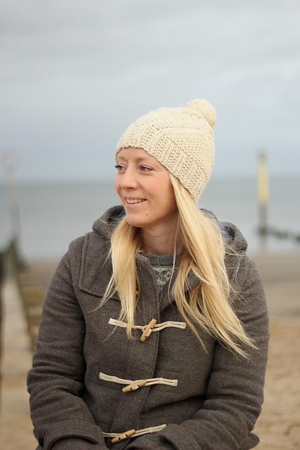 Fidra  hat knitting pattern on Ravelry