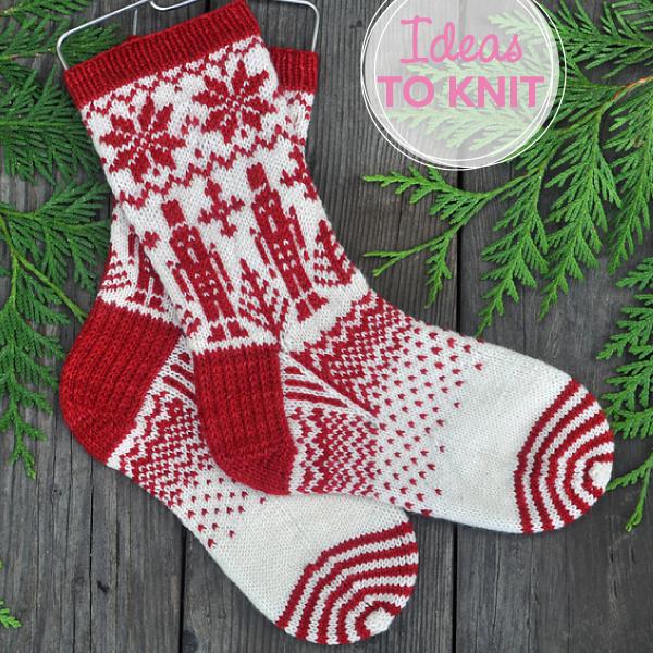Stahlbaum Haus  free sock knitting pattern by Alli Daniele on Ravelry