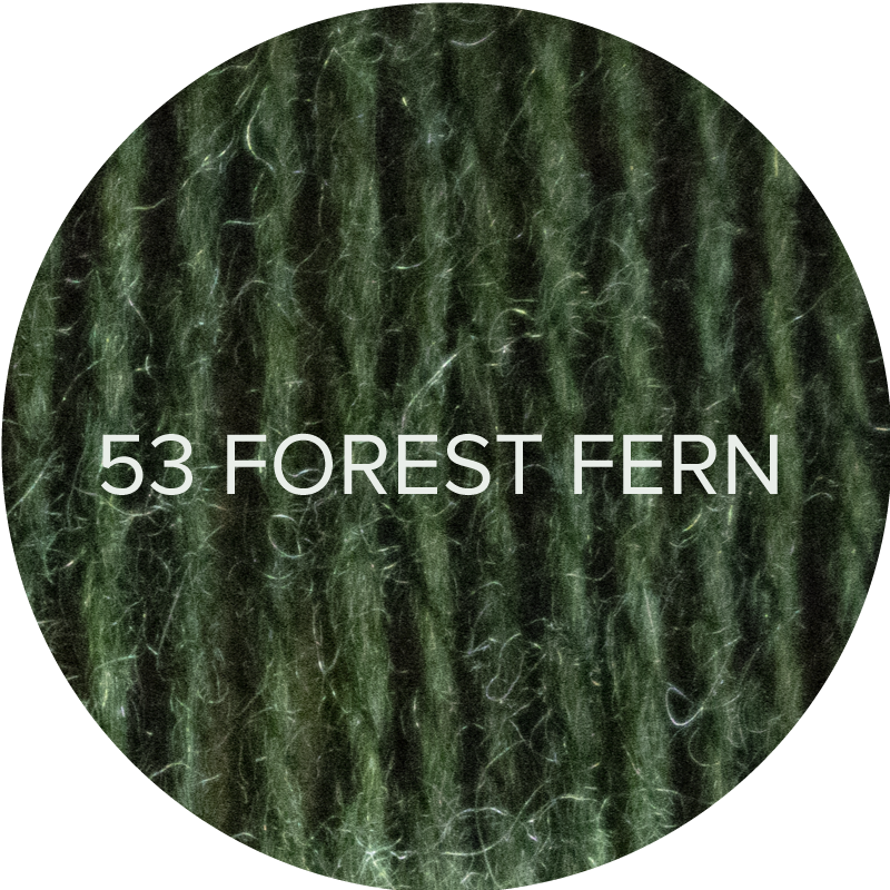 Wooly Worsted in Forest Fern