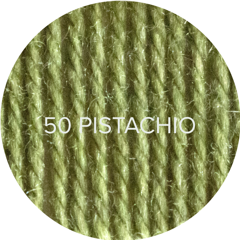 Wooly Worsted yarn in Pistachio