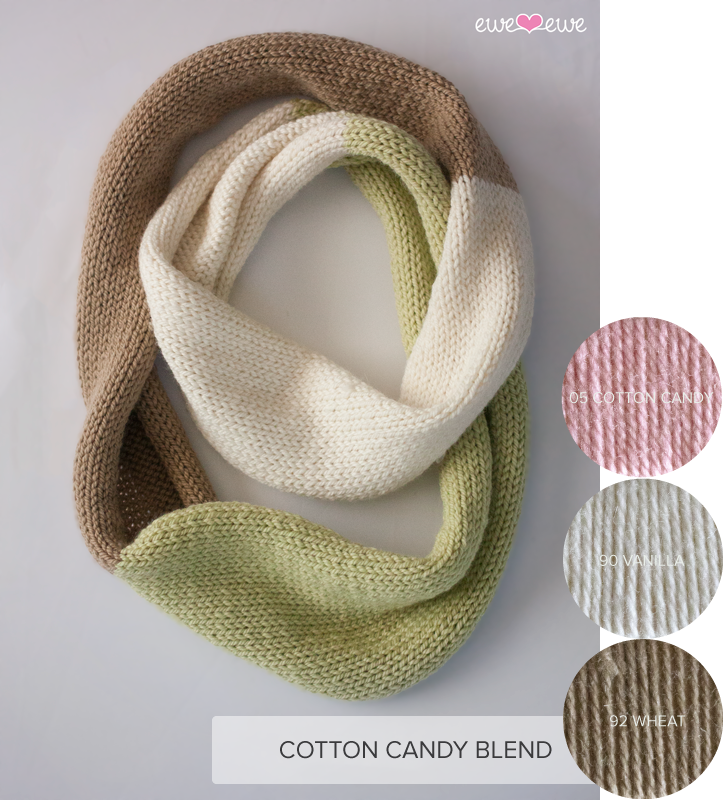 Compatto Cowl yarn kit