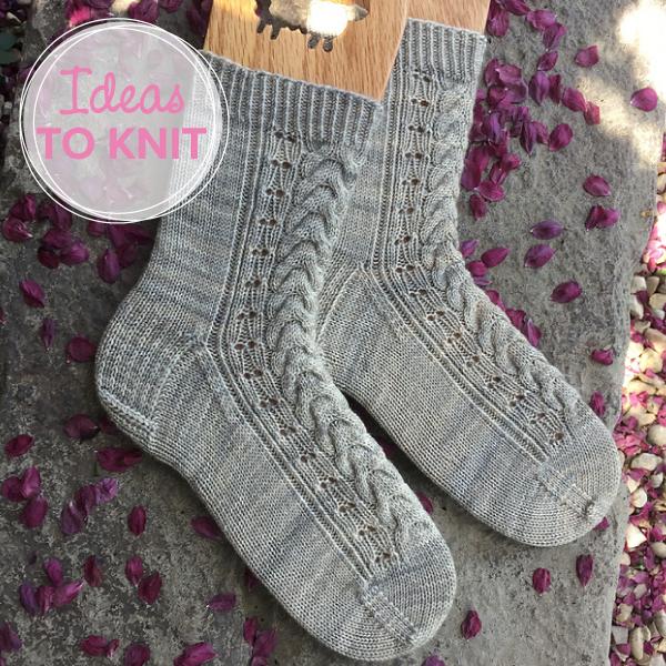 Galiano Socks  designed by Tracie Millar of Knit.sleep.repeat