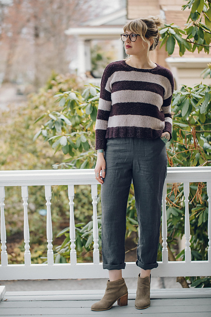 The Daily  sweater pattern by Andrea Mowry on Ravelry