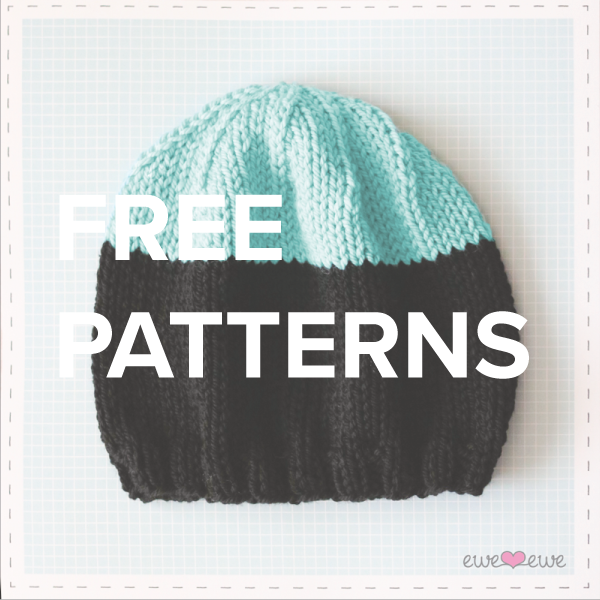 free knitting + crochet patterns