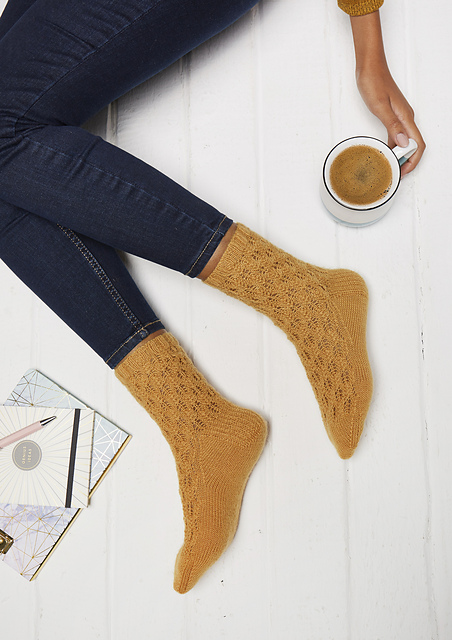 Firre Socks  knitting pattern on Ravelry