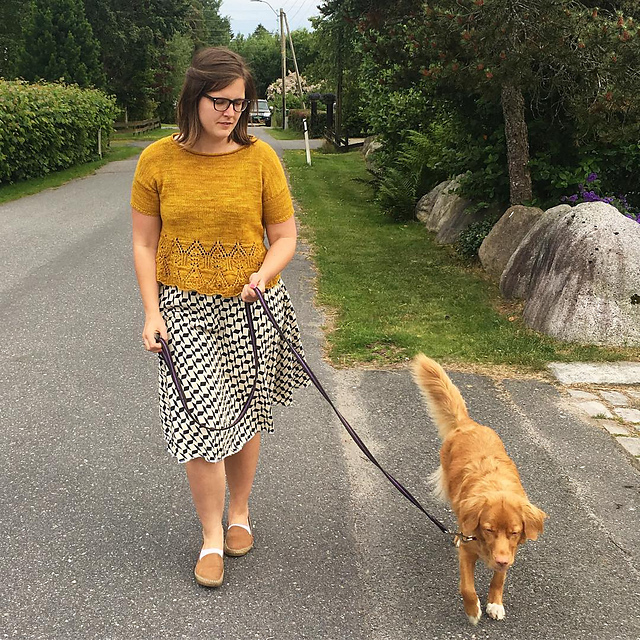 Tegna knitting project by ingvildbysting on Ravelry