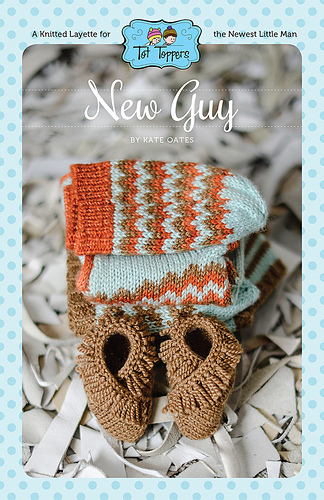 New Guy  layette collection by Tot Toppers