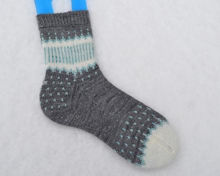 Morslillaylle's amazing Starry Night Socks project on  Ravelry