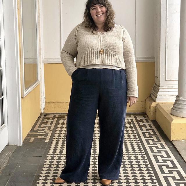 Ursa  sweater knitting pattern by Jacqueline Cielsak on Ravelry