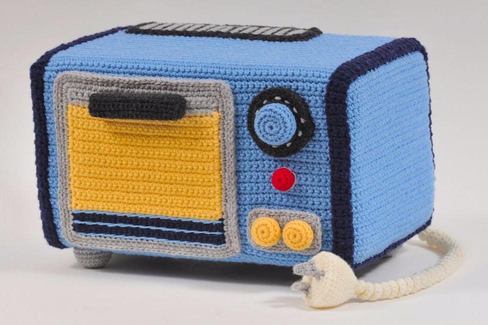 Crochet retro appliances