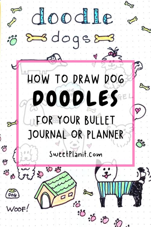 Cute dog doodles!