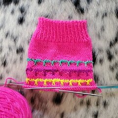 Caite's Bright night  socks on Ravelry