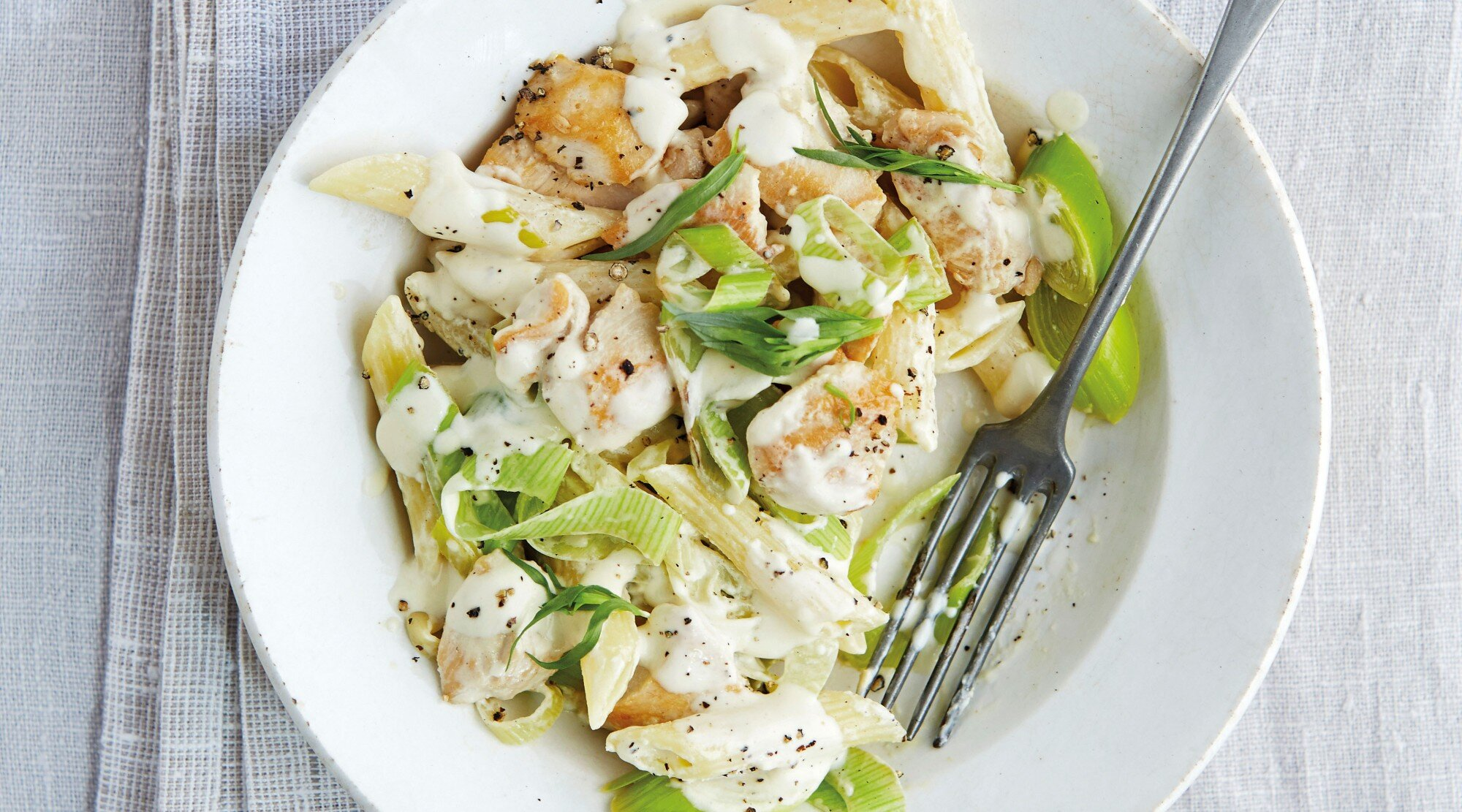 Chicken and Leek Pasta by The Splendid Table