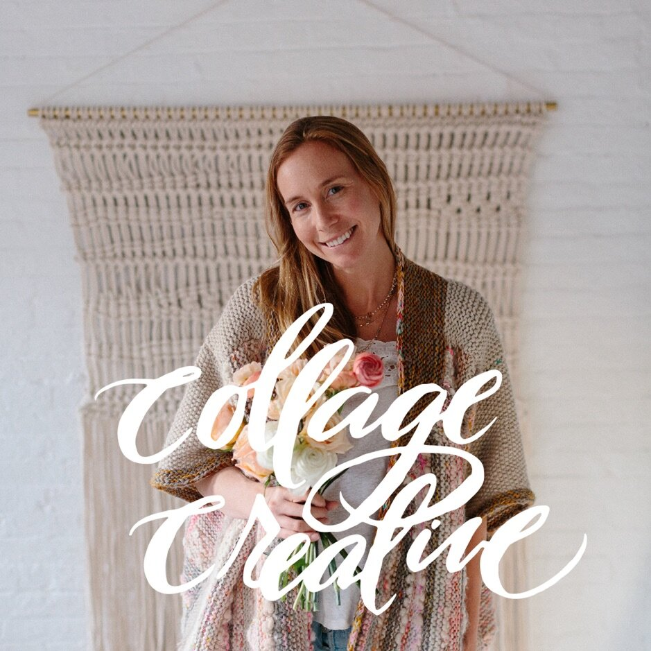 Collage Creative podcast by Amy Small