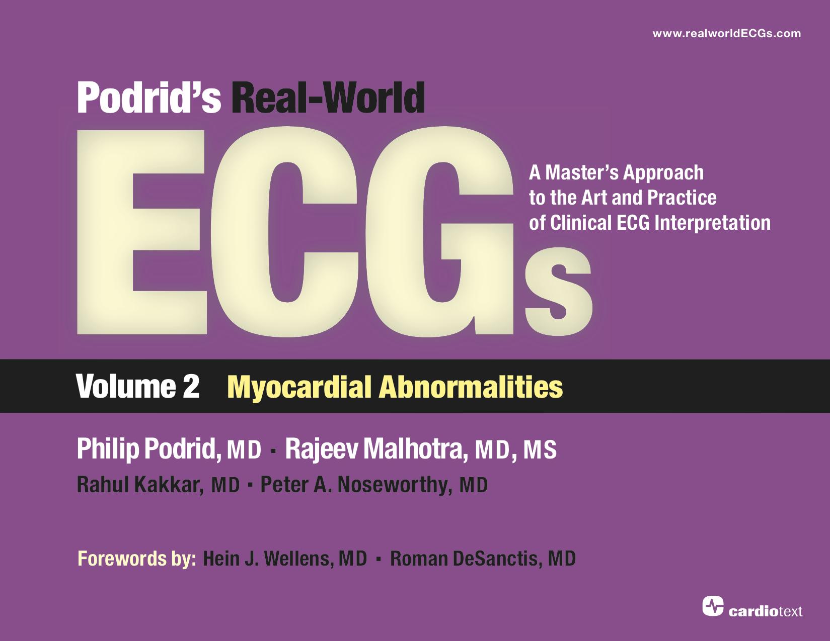 Podrid's Real-World ECGs Volume 2