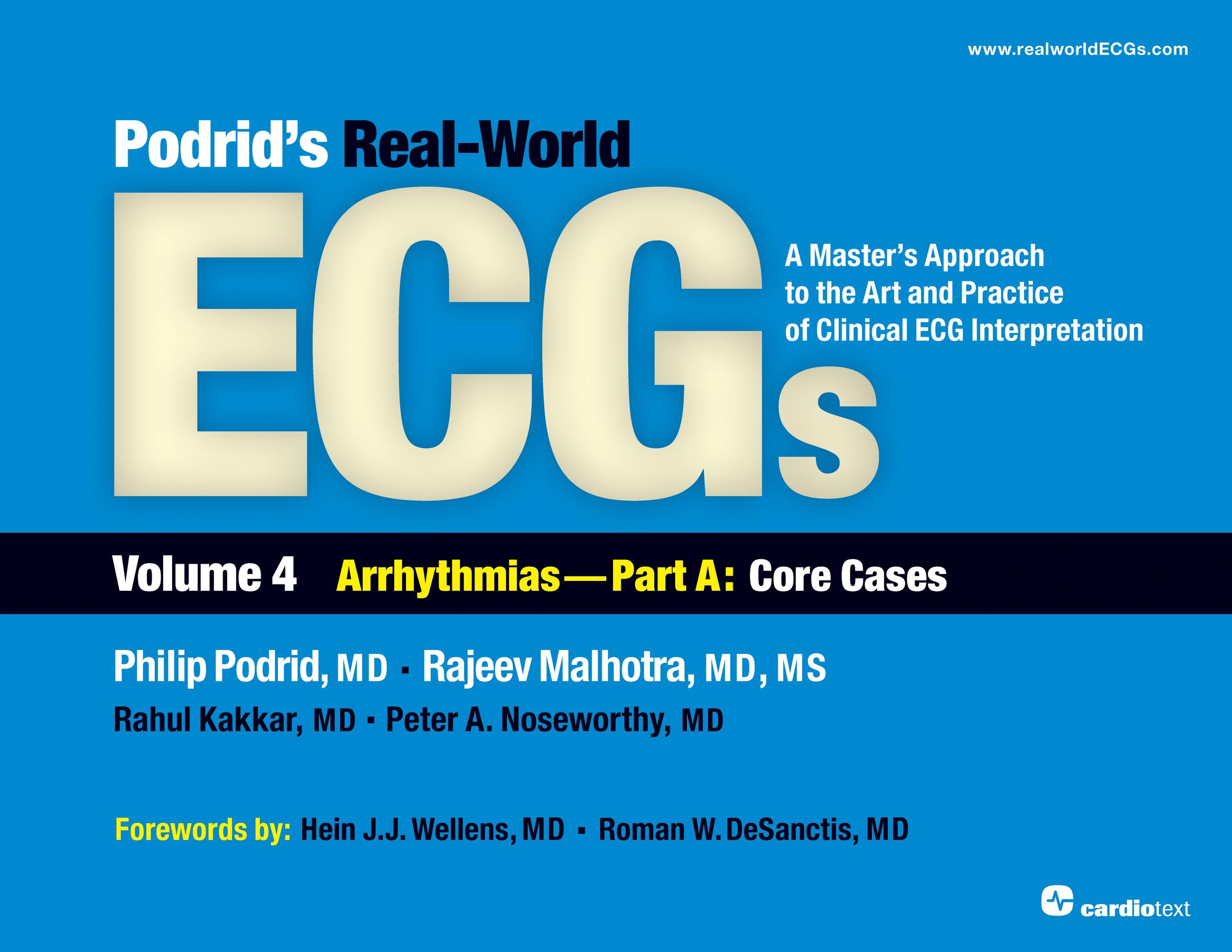 Podrid's Real-World ECGs Volume 4A