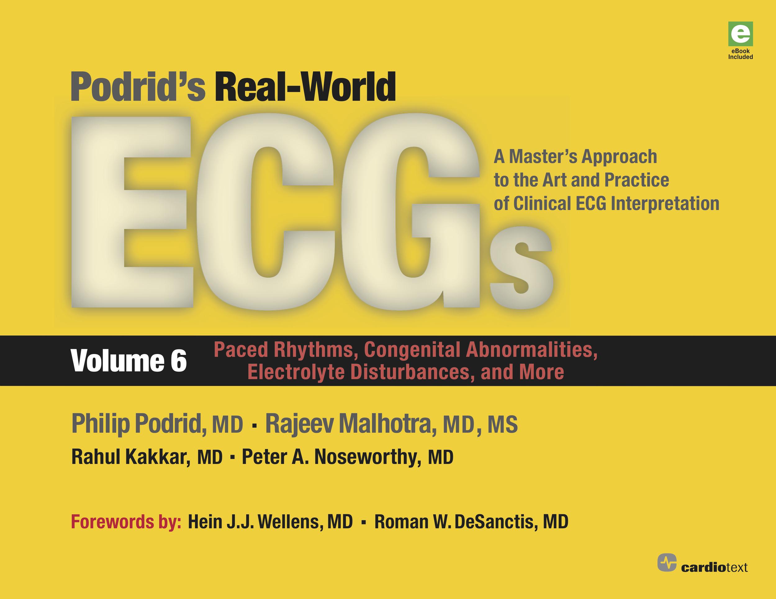Podrid's Real-World ECGs Volume 6