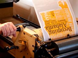 create TWO Letterpress