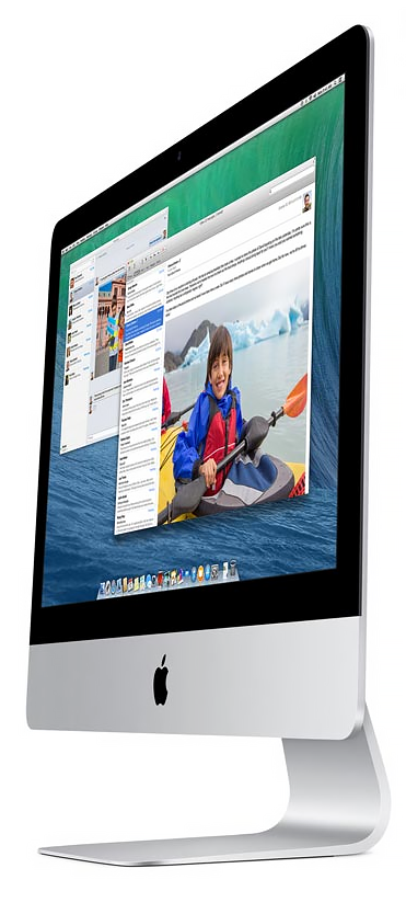 iMac 21.5in Sideview