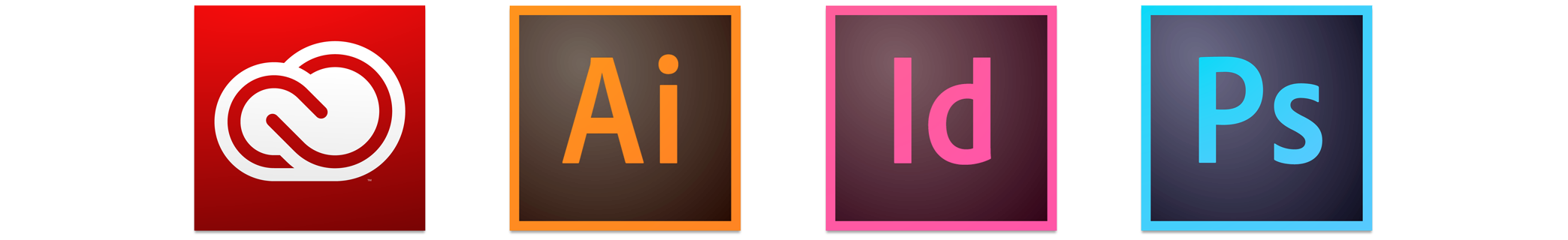 Adobe CC 2014 icons