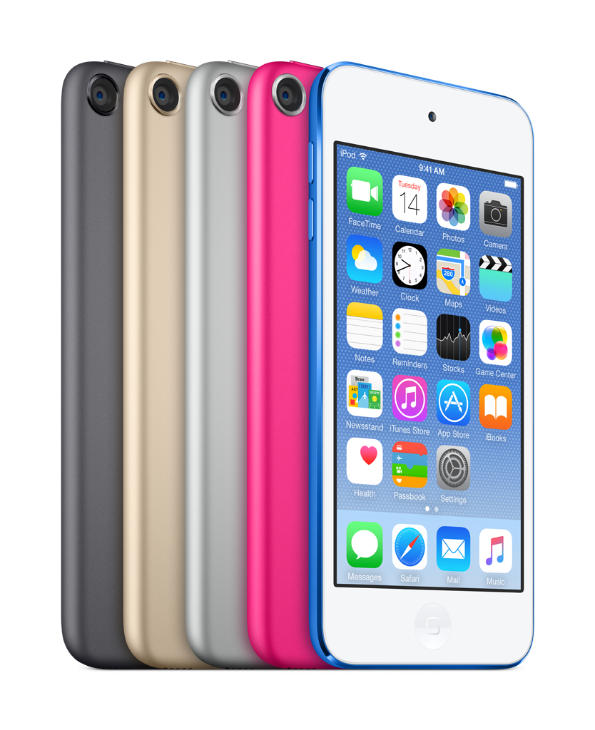 iPod touch family 2015