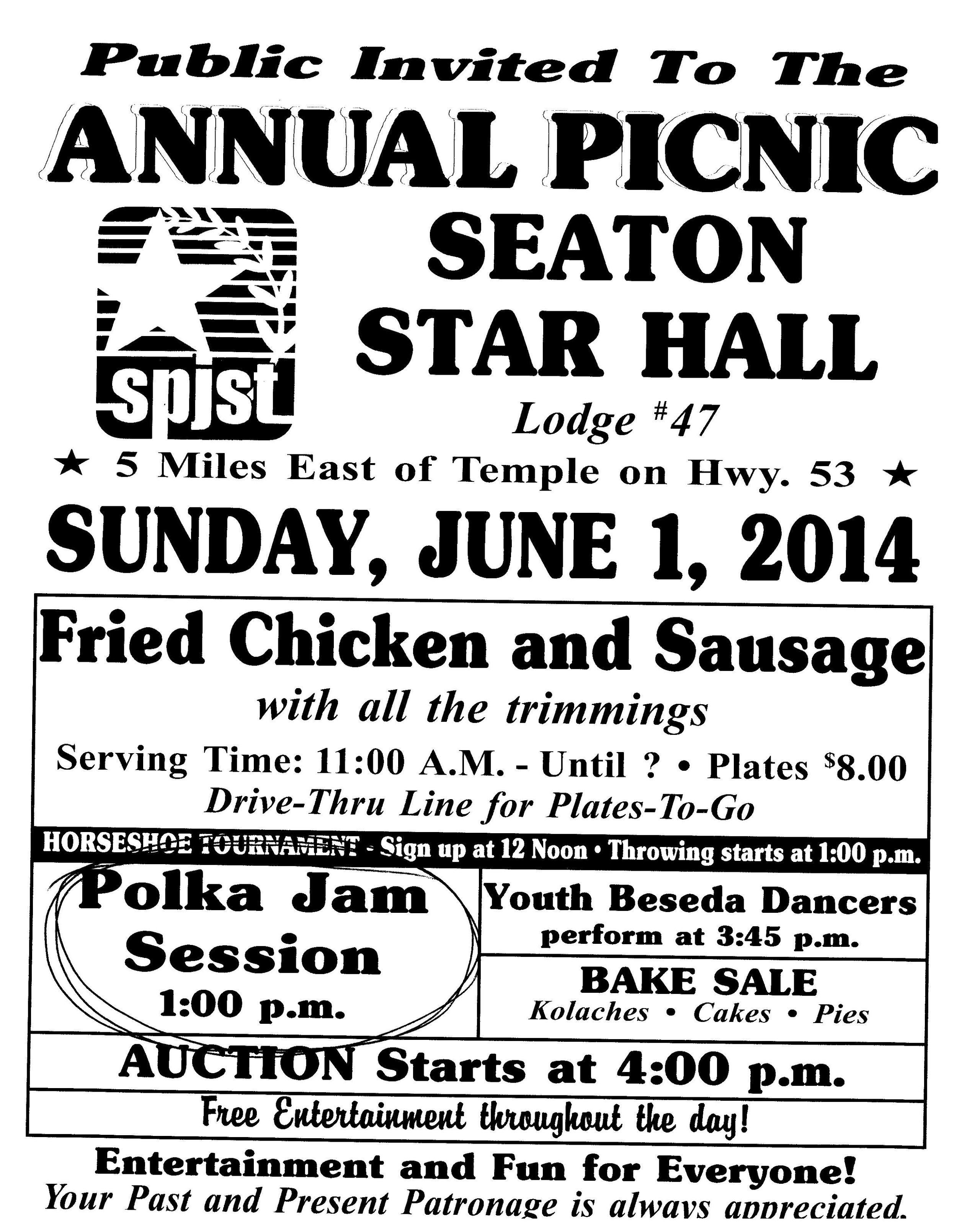 seaton picnic