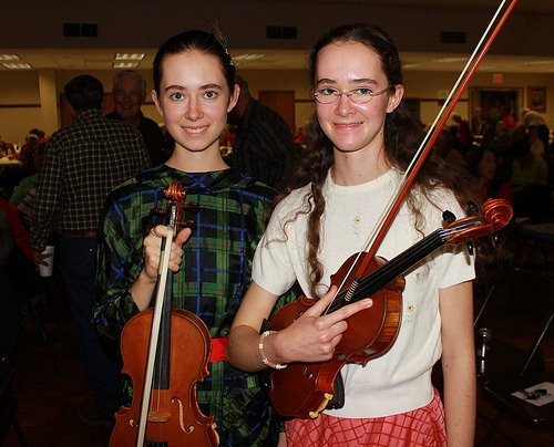 The Jordan Sisters at the Fayette County Country Music Opry in La Grange/Gary E. McKee photo