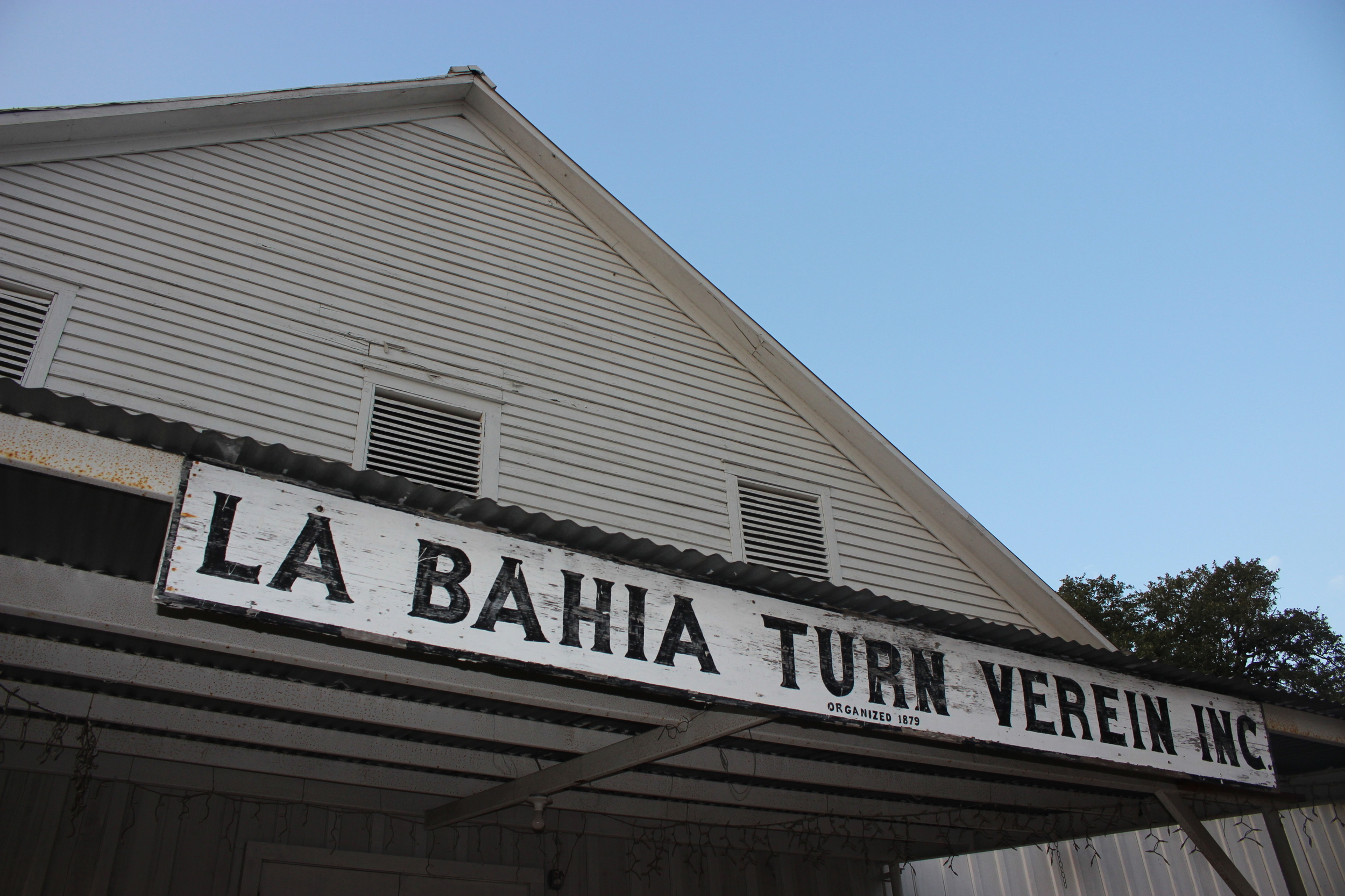 The 114-year-old La Bahia Turn Verein will be the site of the 2nd Annual Festival of Texas Fiddling, Saturday, Nov. 7, 2015./Gary E. McKee photo