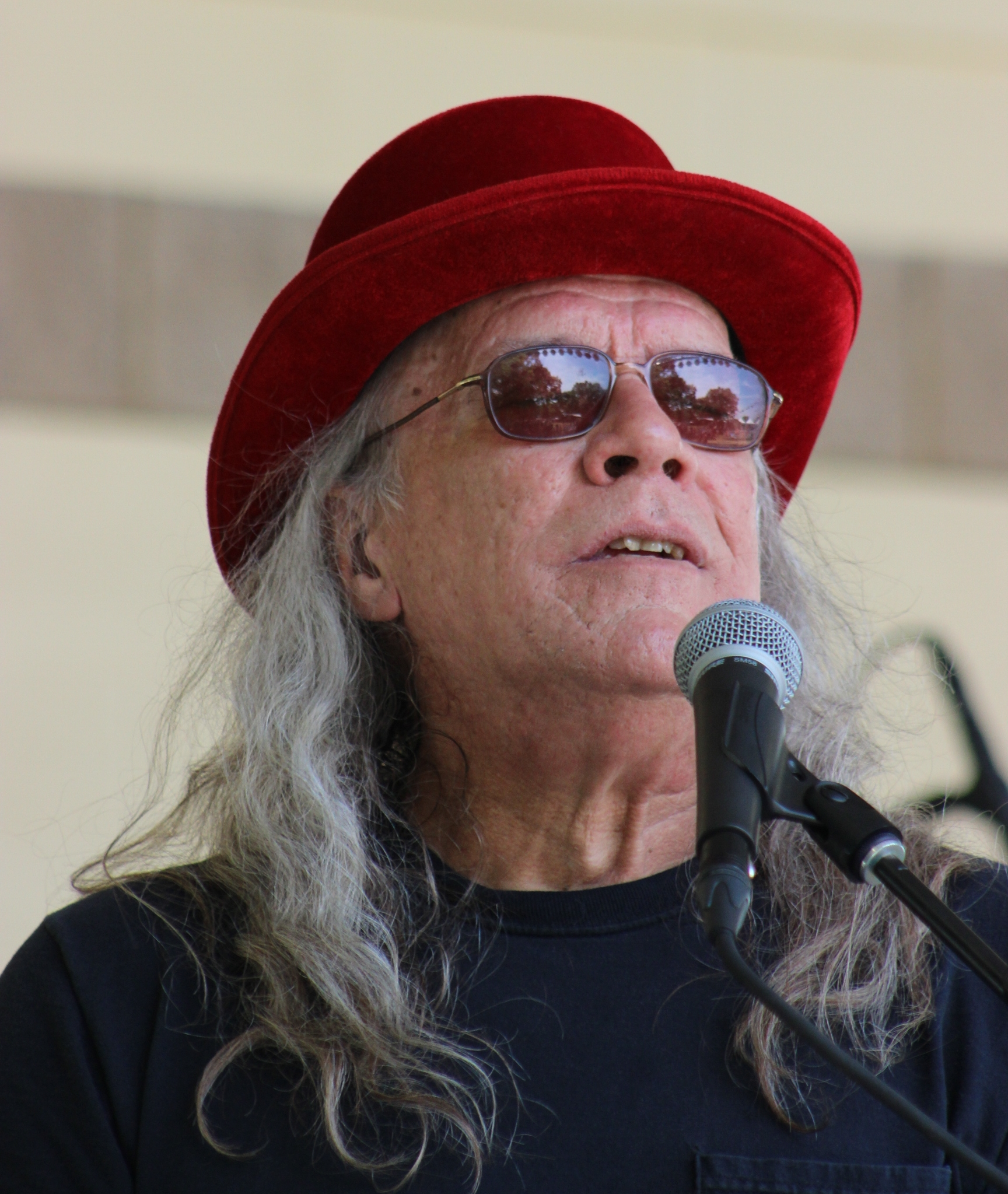 Carl at Germanfest in Muenster, Texas, April 2016/Gary E. McKee photo