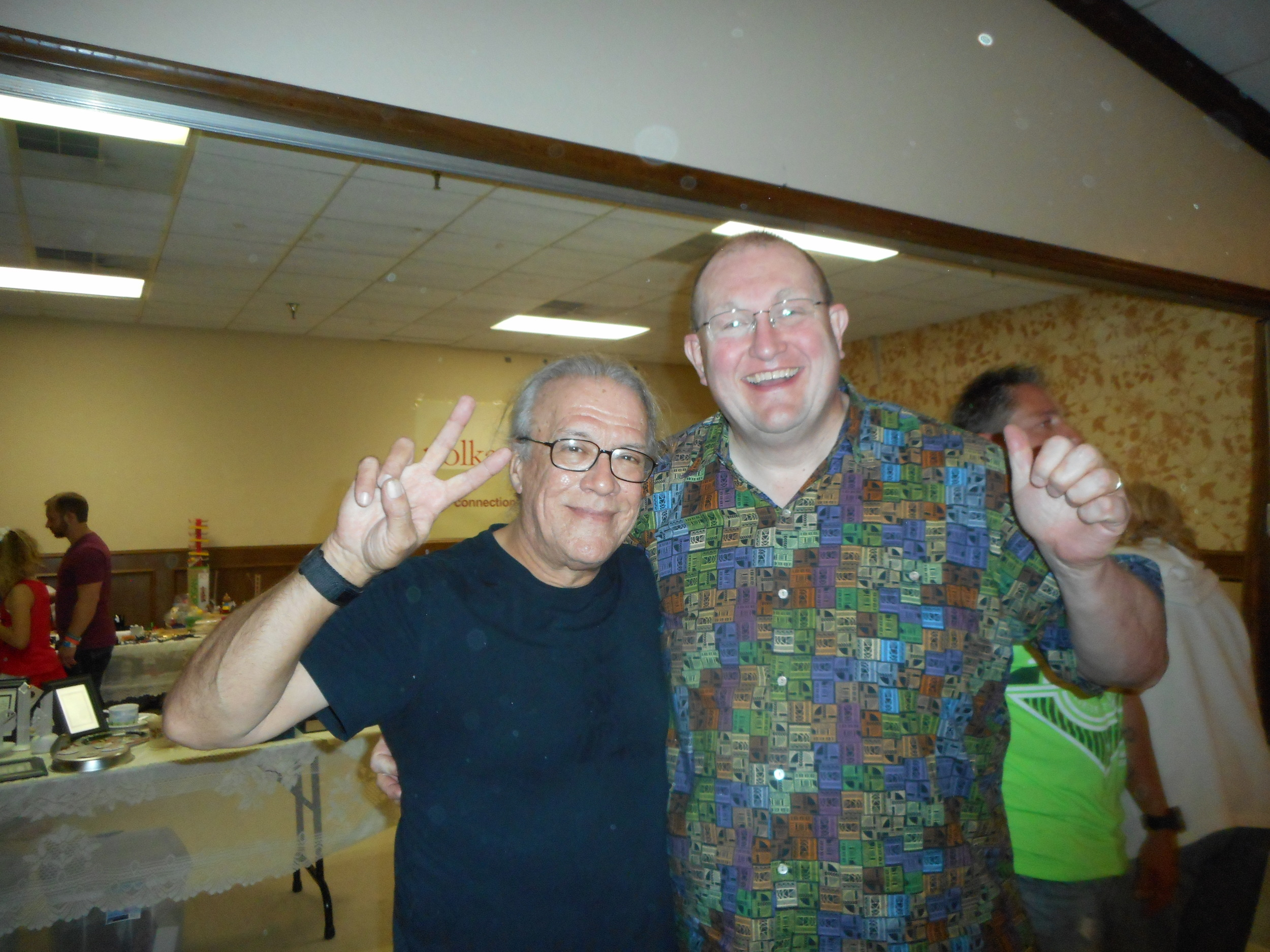 Carl and Chuck Stastny of Polka Connection at National Polka Festival, May 2015/Theresa Parker photo